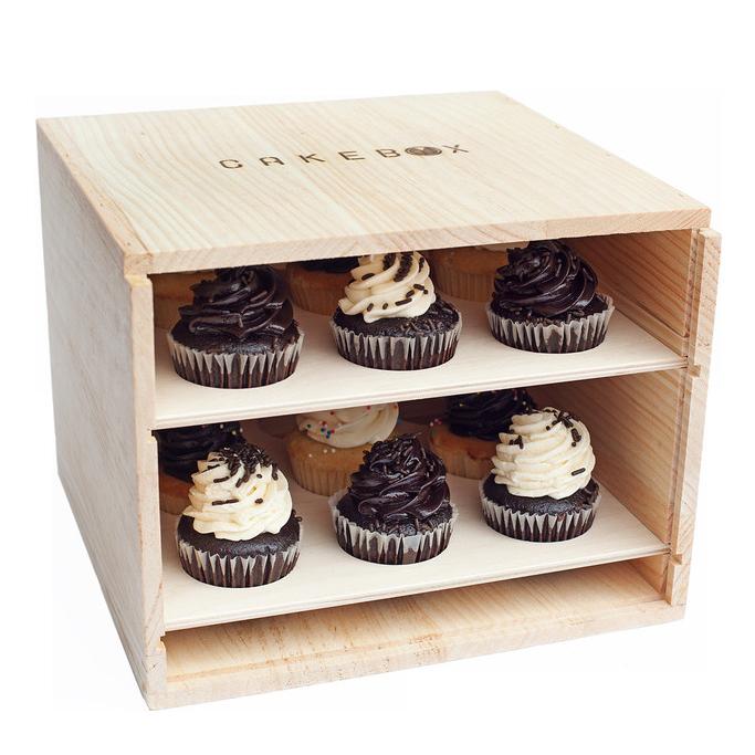 Cake Box - open